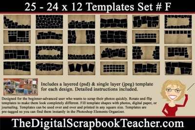 24 x 12 F Template Preview
