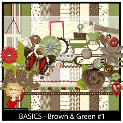 Brown Green 1
