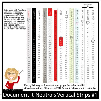 Vertical Strips 1 Neutrals