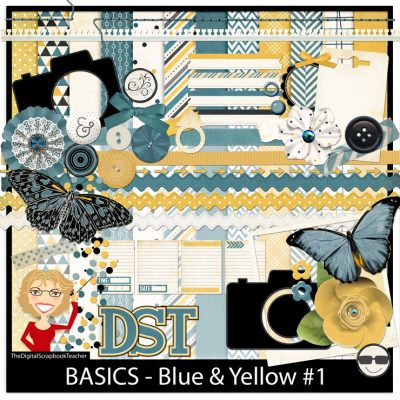 Basics Blue & Yellow