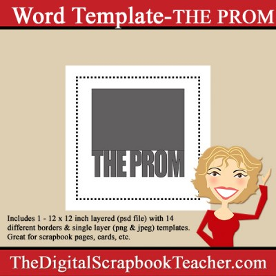 Prom Word Template