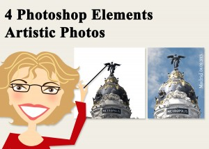 4 Photoshop Elements -Artistic Photos