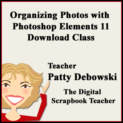 Organizing Photos with PSE 11