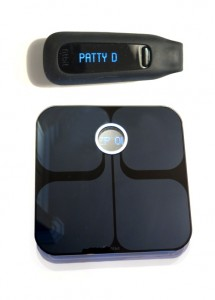 Fitbit Tracker and Scale