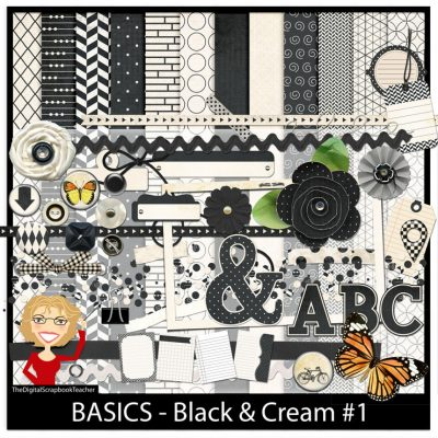 Black & Cream 1
