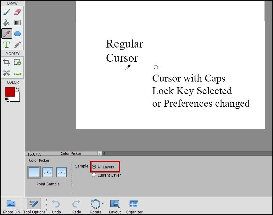Color Picker Photoshop Elements Problems