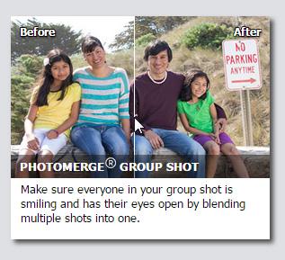 Photoshop Elements Photomerge Group Shot Problems