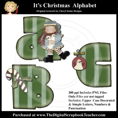 Dig_SB_Tchr_Alpha_Its_Christmas_Seslar