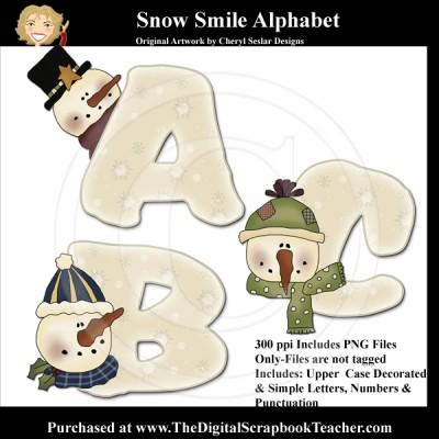 Dig_SB_Tchr_Alpha_Snow_Smile_Seslar