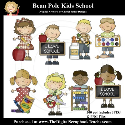 Dig_SB_Tchr_Bean_Pole_Kids_School_Seslar