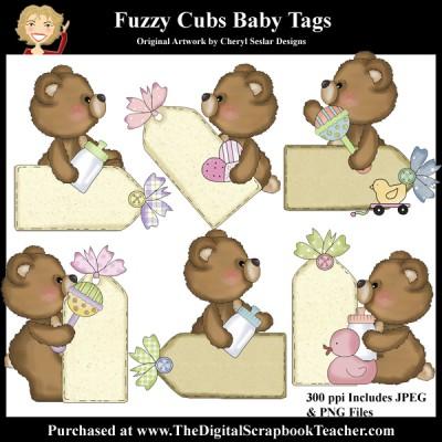 Dig_SB_Tchr_Fuzzy_Cubs_Baby_Tags_Seslar