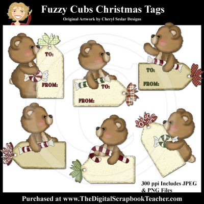 Dig_SB_Tchr_Fuzzy_Cubs_Christmas_Tags_Seslar