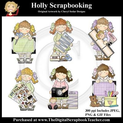 Dig_SB_Tchr_Holly_Scrapbooking