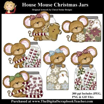 Dig_SB_Tchr_House_Mouse_Christmas_Jars_Seslar