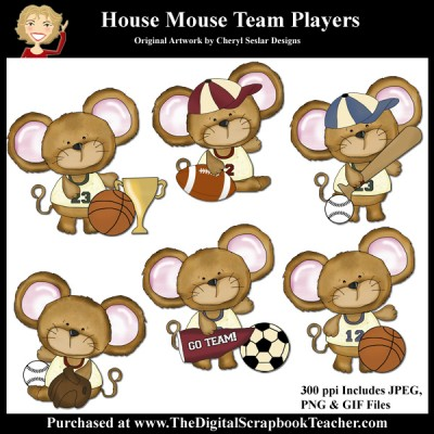 Dig_SB_Tchr_House_Mouse_Team_Players_Seslar