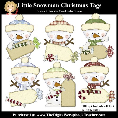 Dig_SB_Tchr_Little_Snowman_Tags_Seslar
