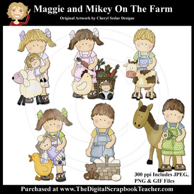 Dig_SB_Tchr_Maggie_and_Mikey_On_The_Farm_Seslar