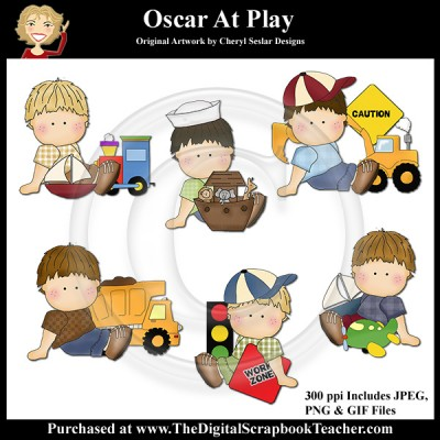 Dig_SB_Tchr_Oscar_at_Play_