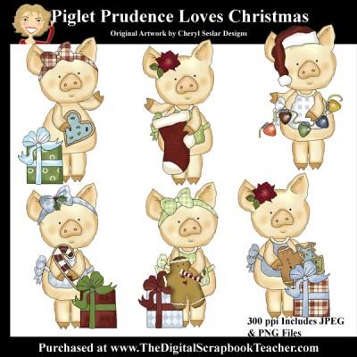 Dig_SB_Tchr_Piglet_Prudence_Loves_Christmas_Seslar