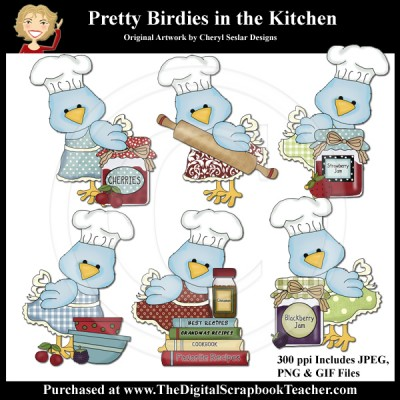Dig_SB_Tchr_Pretty-Birdies-in_the_Kitchen_Seslar