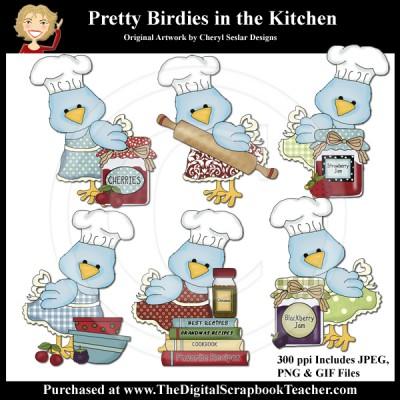 Dig_SB_Tchr_Pretty-Birdies-in_the_Kitchen_Seslar