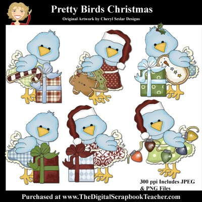 Dig_SB_Tchr_Pretty_Birds_Christmas_Seslar