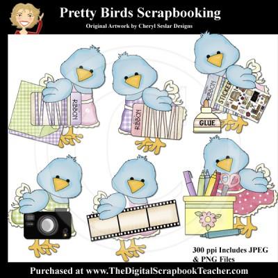 Dig_SB_Tchr_Pretty_Birds_Scrapbooking_Seslar