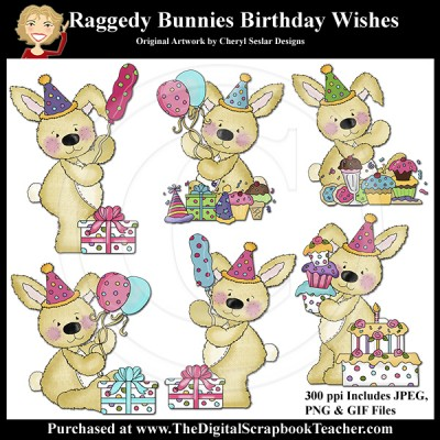 Dig_SB_Tchr_Raggedy_Bunnies_Birthday_Wishes_Seslar