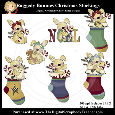 Dig_SB_Tchr_Raggedy_Bunnies_Christmas_Stockings_CSESLAR