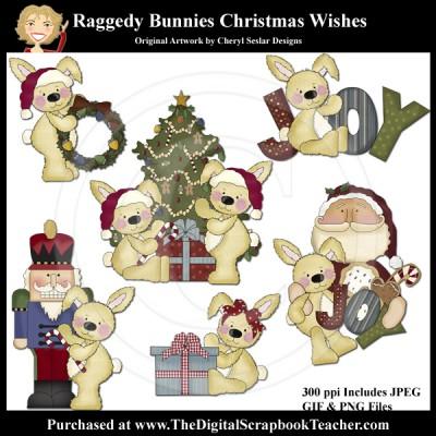 Dig_SB_Tchr_Raggedy_Bunnies_Christmas_Wishes_CSeslar