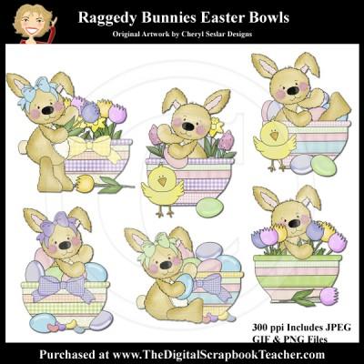 Dig_SB_Tchr_Raggedy_Bunnies_Easter_Bowls_CSeslar