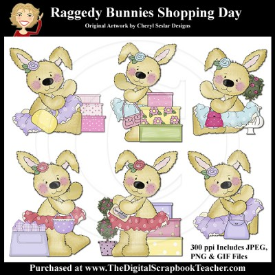 Dig_SB_Tchr_Raggedy_Bunnies_Shopping_Day_Seslar