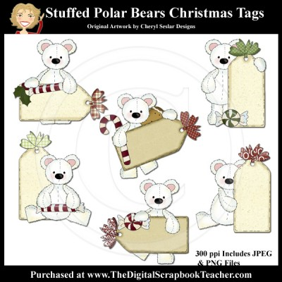 Dig_SB_Tchr_Stuffed_Polar_Bears_Christmas_Tags_Seslar